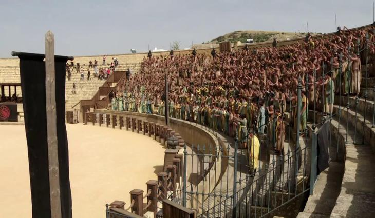 Game of Thrones in Spain - Osuna.