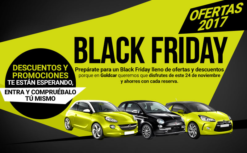black friday en goldcar