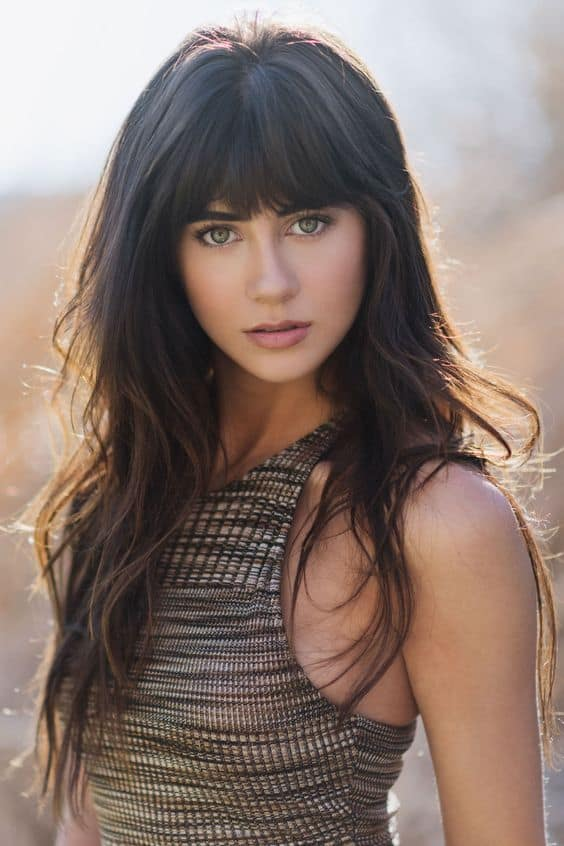 15 Best Long Hairstyles With Bangs 2016 – 2017 On Haircuts