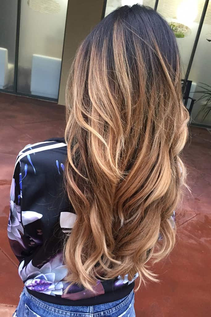 15 Amazing Flamboyage Hair Color Ideas 2017 On Haircuts