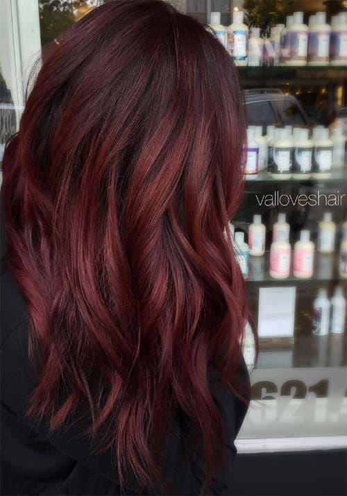 Image Result For Medium Auburn Hair Color