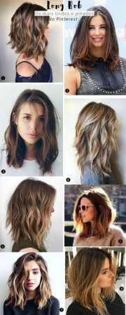 gorgeous lob hairstyle 2018