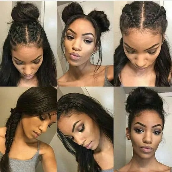 15 Cute Updos For Natural Black Hair On Haircuts
