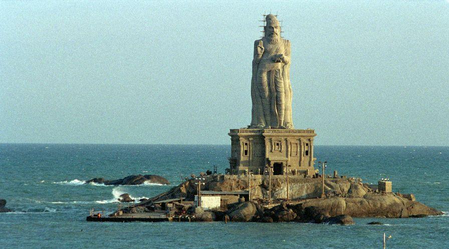Thiruvalluvar Statue Kanyakumari India