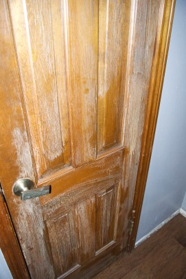 How To Paint Stained Wood Trim On House And Home