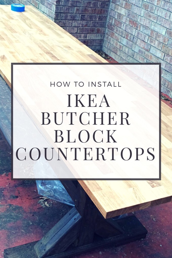 Home on house and home for How to install butcher block countertops