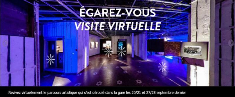 visite virtuelle Égarez-vous par Guillaume Louyot Onickz Artworks