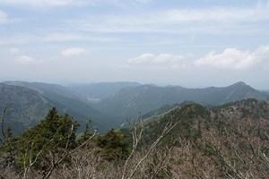 奈良を見渡す景色
