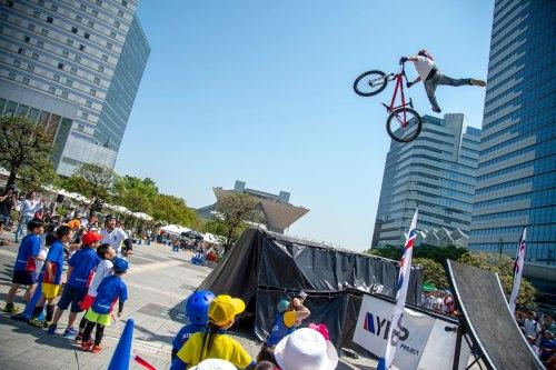 『自転車空中スタントショー BMX&MTBエアトリックショー』