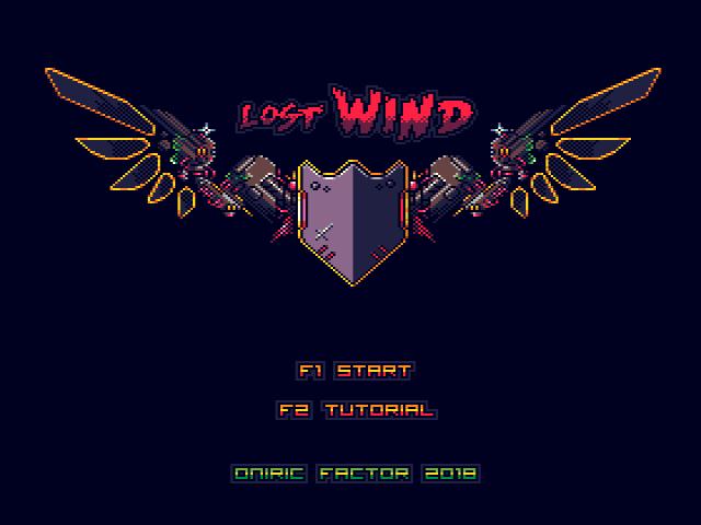 Menu Lost Wind: Version Platinum [WIP]