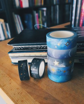 Des washi tapes...