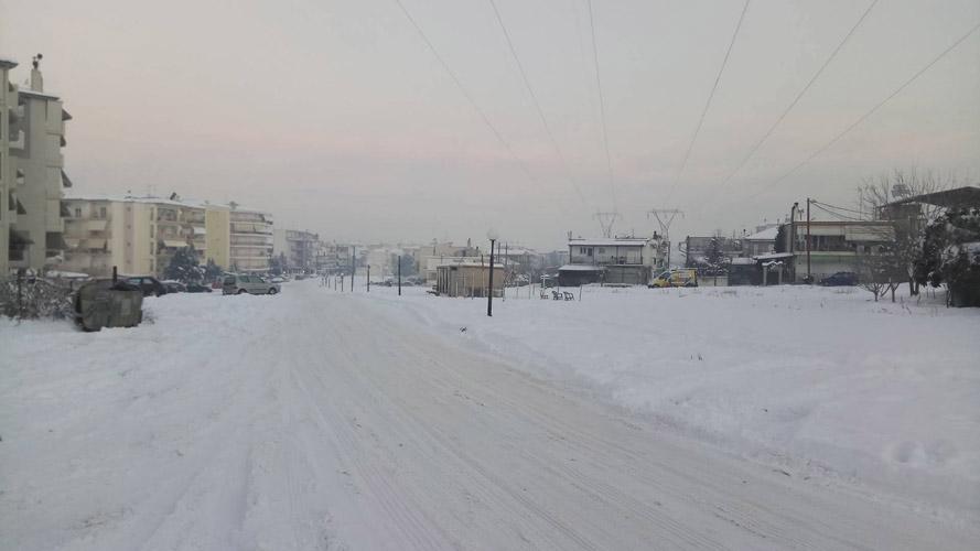 Καλλιάνος στο onlarissa: Χιόνια και χιονόνερο από σήμερα το βράδυ στη Λάρισα- Νέα 4ήμερη επιδείνωση