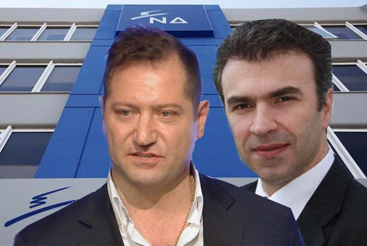 """Νταβέλης και Ζώης βάζουν """"φωτιά"""" στο ψηφοδέλτιο της Νέας Δημοκρατίας στη Λάρισα"""
