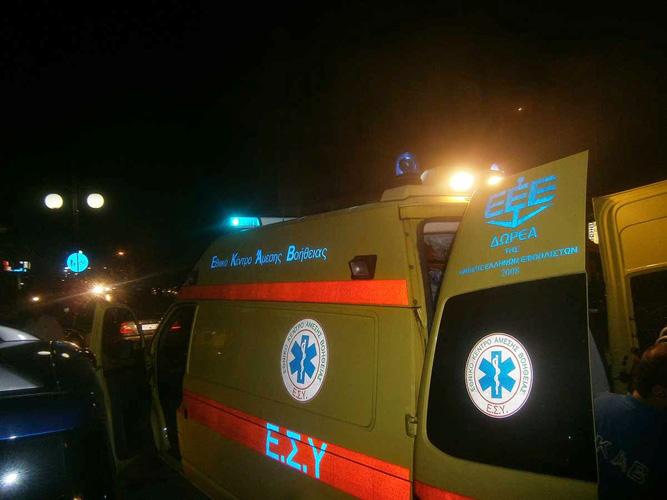 Αυτοκίνητο παρέσυρε ανήλικο ποδηλάτη στη Λάρισα - Στο νοσοκομείο ένας 17χρονος