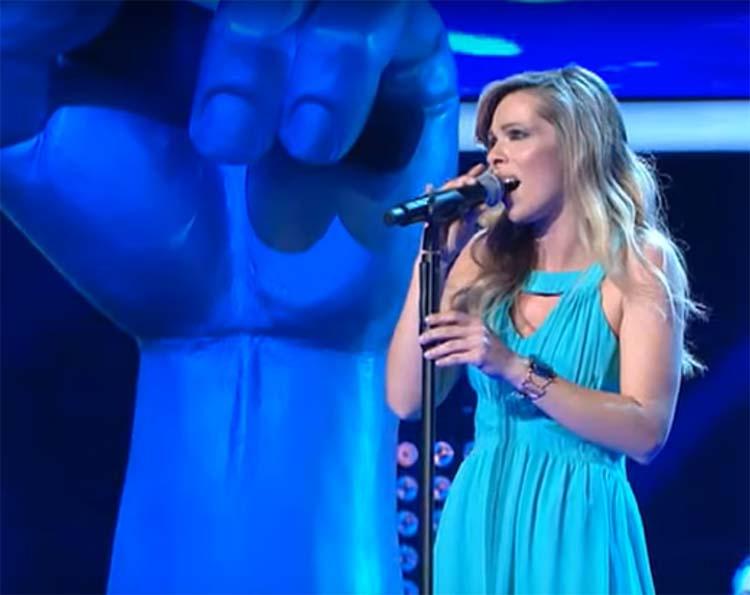 Στον τελικό του Voice η Λαρισαία Νικολέτα Μηλίωνη! (φωτό - βίντεο)