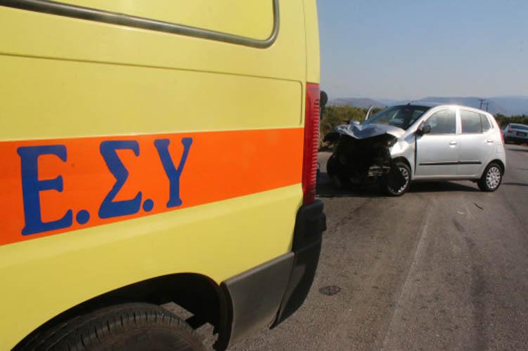 Νεκρή 19χρονη σε σύγκρουση αυτοκινήτων