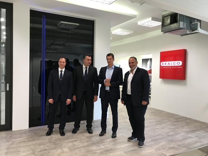 Grand opening για το νέο ολοκληρωμένο εκθεσιακό χώρο δόμησης της EXALCO (φωτό)