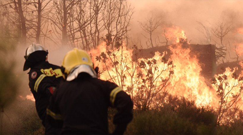 Πυρκαγιά το απόγευμα της Τετάρτης στο Κόκκινο Νερό