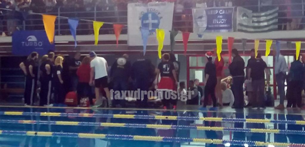 Στην Εντατική Λαρισαίος κολυμβητής – Κατέρρευσε λίγο πριν από αγώνες βετεράνων στο Βόλο