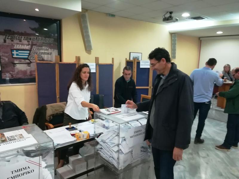 Αυτοί είναι οι 31 που εκλέγονται στη νέα διοίκηση του Εμπορικού Επιμελητηρίου Λάρισας (ονόματα)