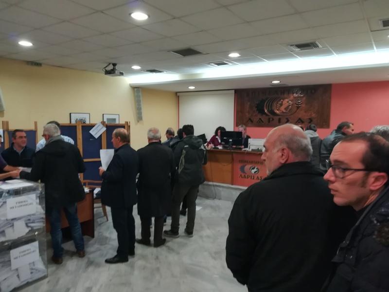 Τα αποτελέσματα των εκλογών για το Επιμελητήριο στον Τύρναβο
