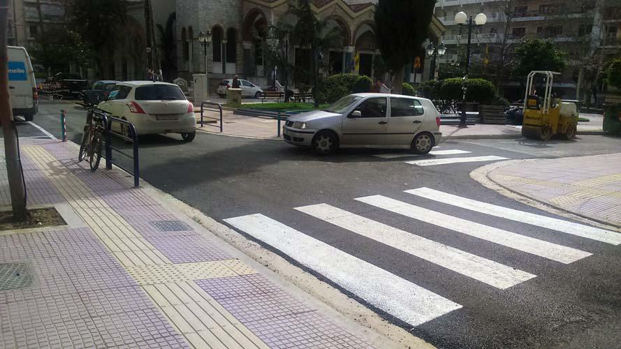 Έτσι είναι πλέον το ανακατασκευασμένο τμήμα της οδού Ηπείρου στη Λάρισα - Δείτε φωτορεπορτάζ
