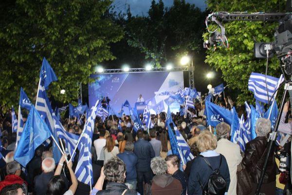 Μητσοτάκης: «Η Λάρισα έστειλε το μήνυμα της μεγάλης πολιτικής αλλαγής»