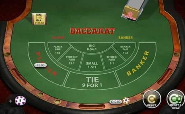 Play Baccarat Online The Top Real Money Uk Casinos Reviewed Dubai Khalifa