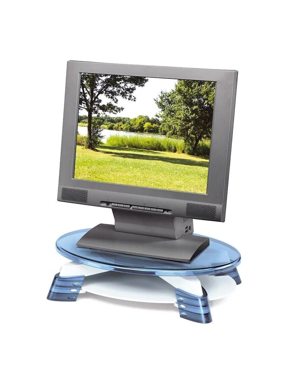 swivelling flat screen monitor