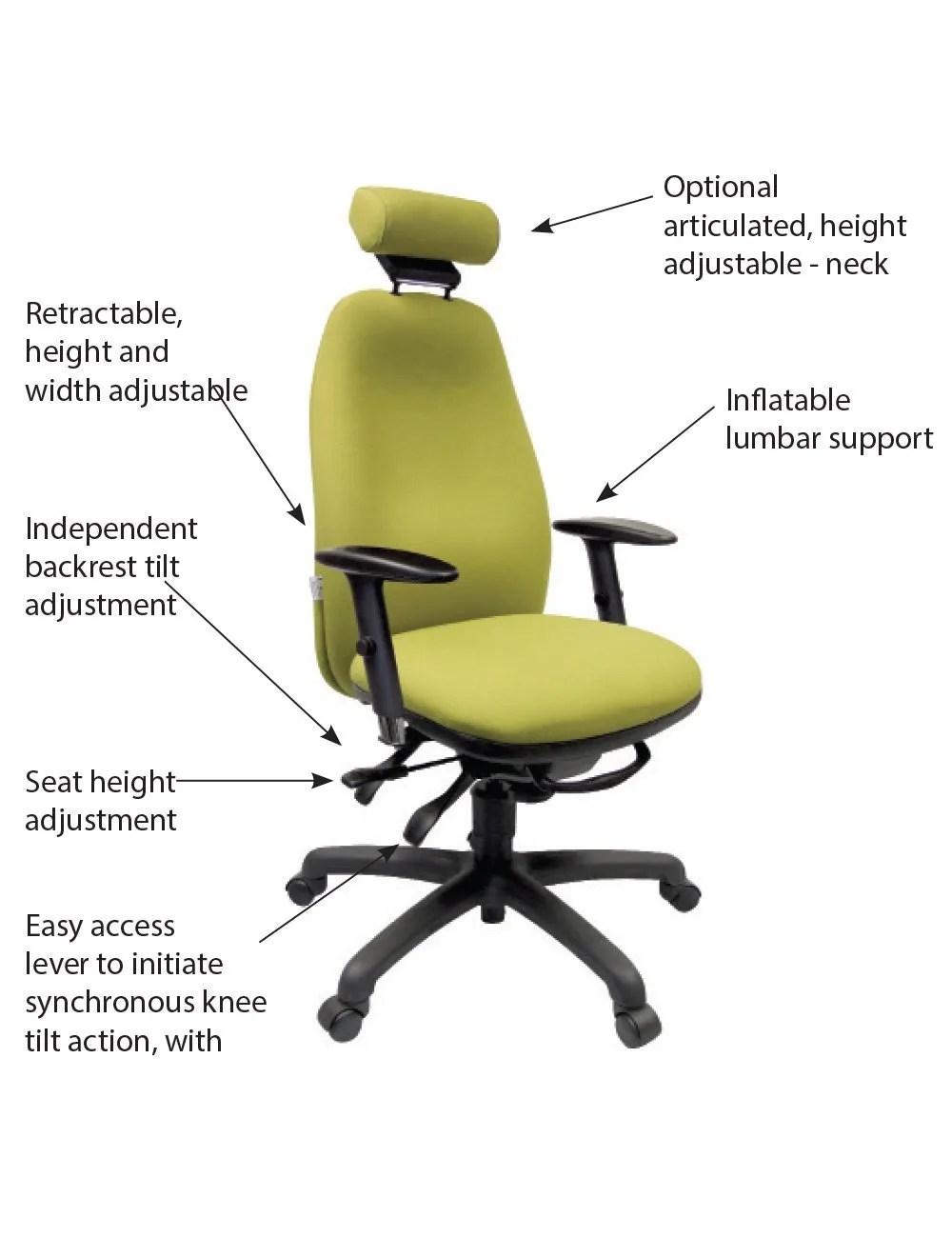 Adapt 660 Chair  Online Ergonomics