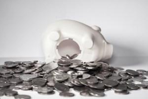 sparen is geld opzij zetten