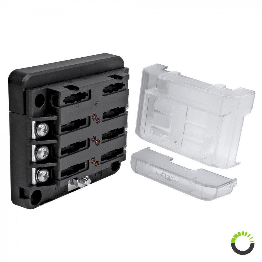 medium resolution of 6 way 100a m4 modular led indicator atc ato blade fuse box