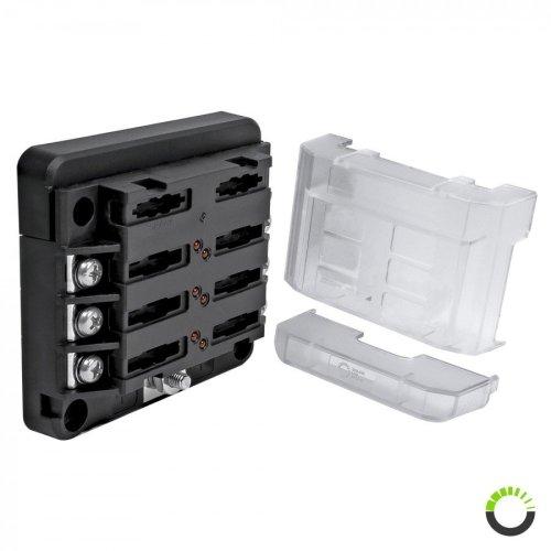small resolution of 6 way 100a m4 modular led indicator atc ato blade fuse box