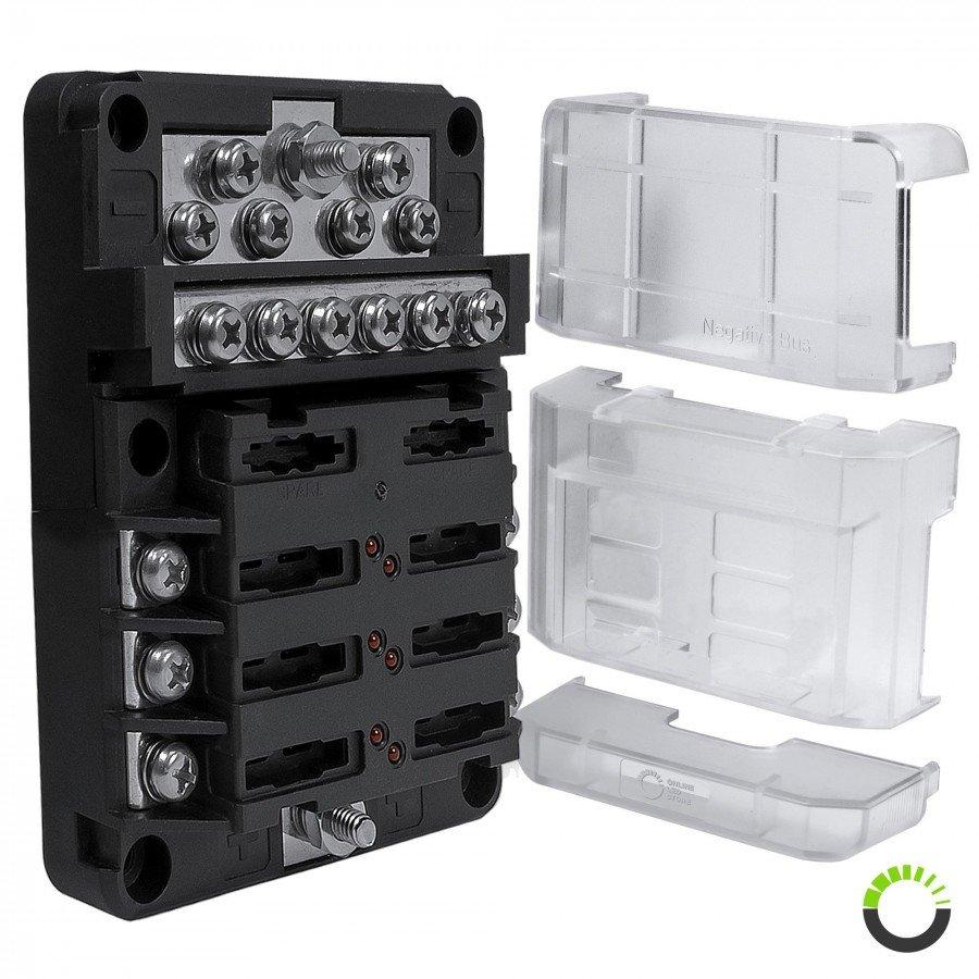 medium resolution of pwr0031 6 way positive pwr0032 12 way ground m4 modular fuse box