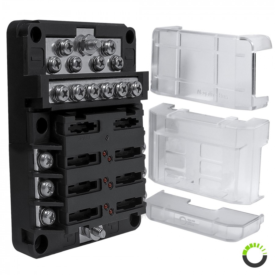 hight resolution of pwr0031 6 way positive pwr0032 12 way ground m4 modular fuse box