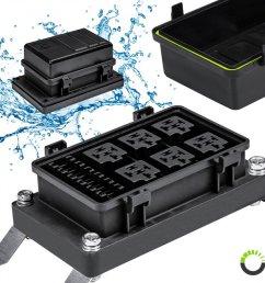 ip65 waterproof 6 slot atc ato fuse 6 slot 5 pin [ 900 x 900 Pixel ]