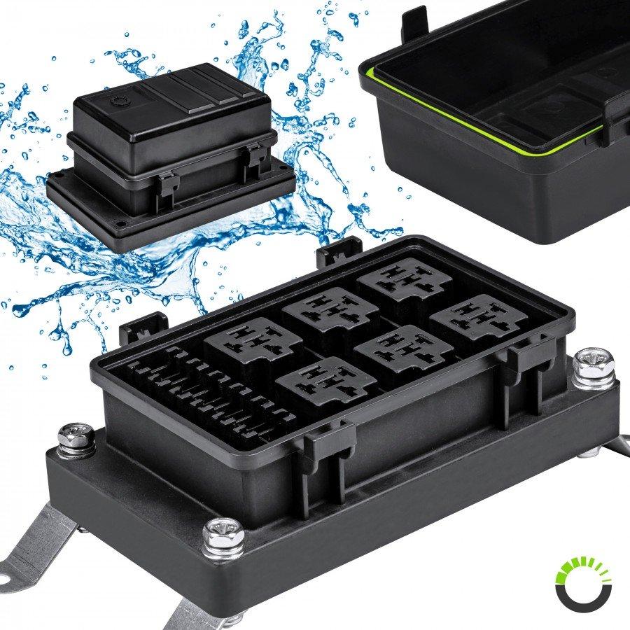 hight resolution of ip65 waterproof 6 slot atc ato fuse 6 slot 5 pin