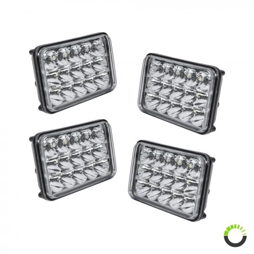 small resolution of 4 pack 6 x 4 led headlight