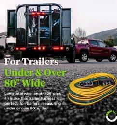 wishbone style trailer wiring harness [ 900 x 900 Pixel ]