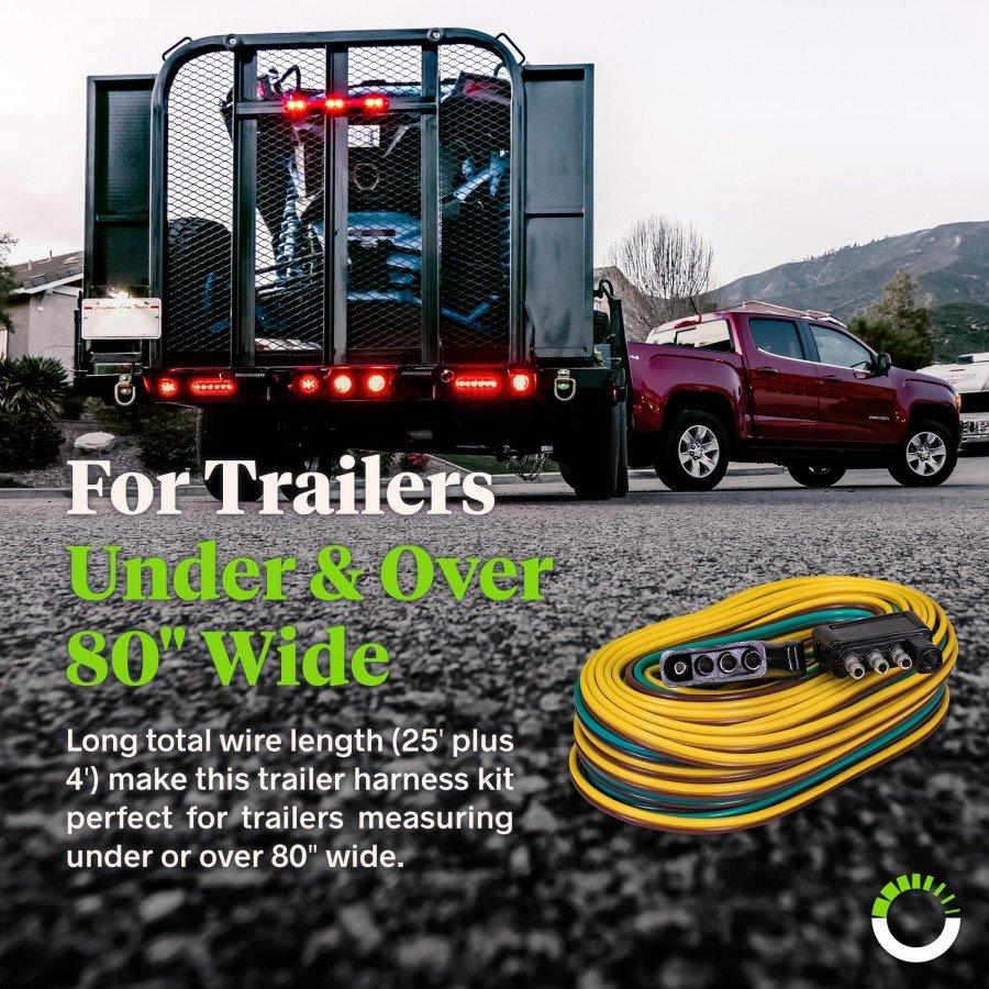 hight resolution of wishbone style trailer wiring harness