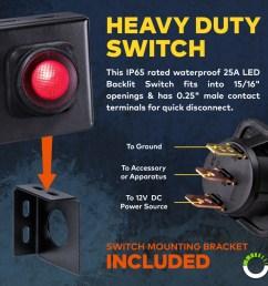 off road led light bar wiring harness off road light wiring kit wiring harness lamphus orwh01 off road light bar wiring harness [ 900 x 900 Pixel ]