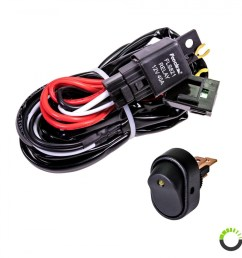 lamphus orwh04 off road light bar wiring harness set mini on off wiring harness 8ft on off power switch for off road led light bar [ 900 x 900 Pixel ]