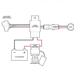 switches relays lamphus off road led light bar wiring harness 4 pin relay starter [ 900 x 900 Pixel ]