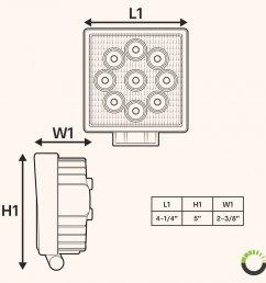 three led work light diagram wiring diagrams led light schematic three led work light diagram [ 900 x 900 Pixel ]