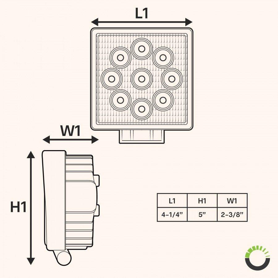 medium resolution of three led work light diagram wiring diagrams led light schematic three led work light diagram