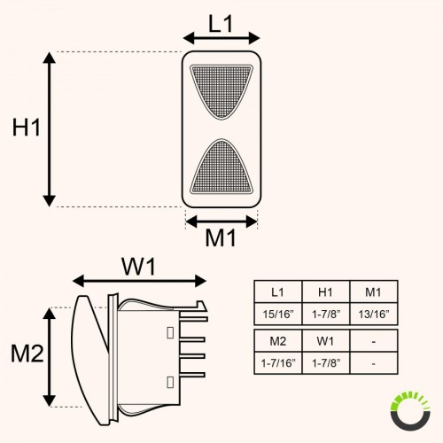 small resolution of spdt on off on rocker switch 14v dc 20a 4 pin led