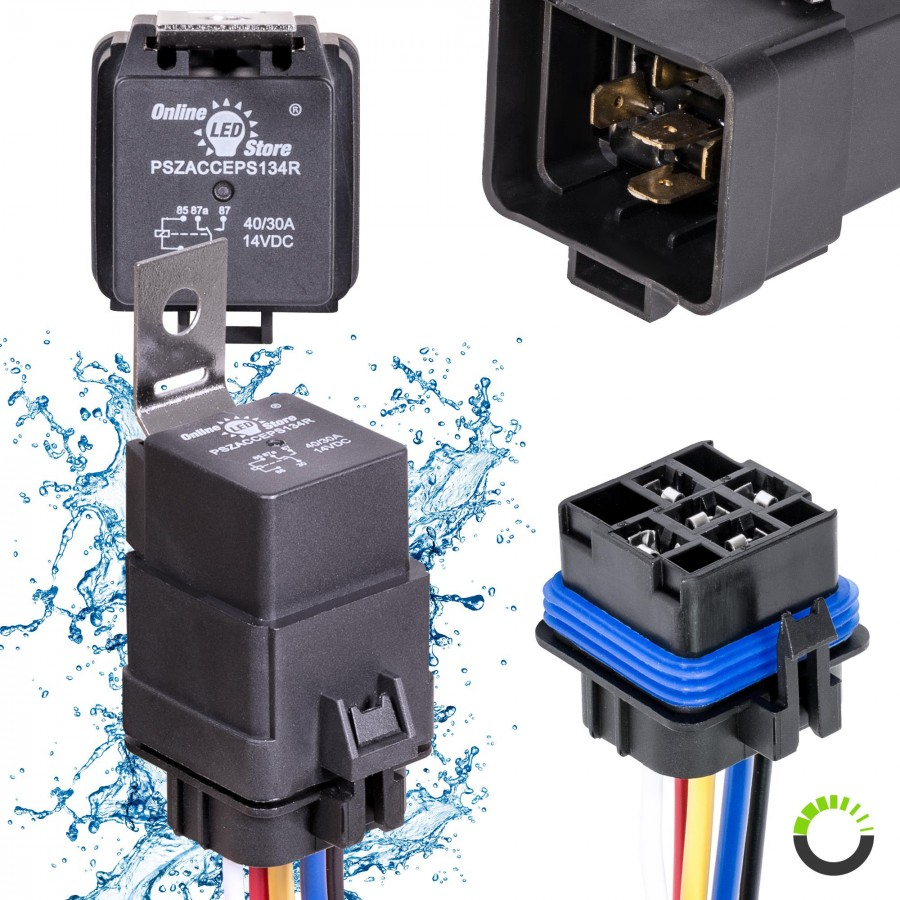 Waterproof Spdt Relay Wiring Diagram