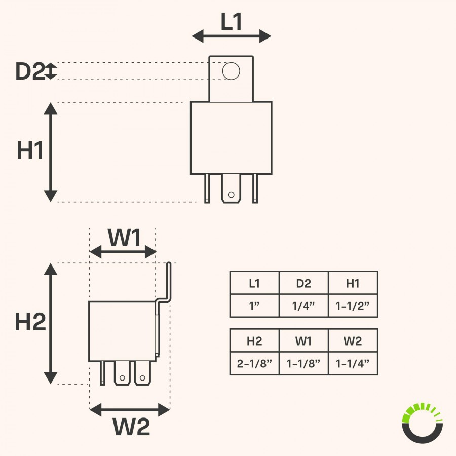 medium resolution of ols 12v 30 40 amp 5 pin spdt bosch style electrical relay pack of 12v relay wiring diagram dual horn 5 pin relay wiring diagram
