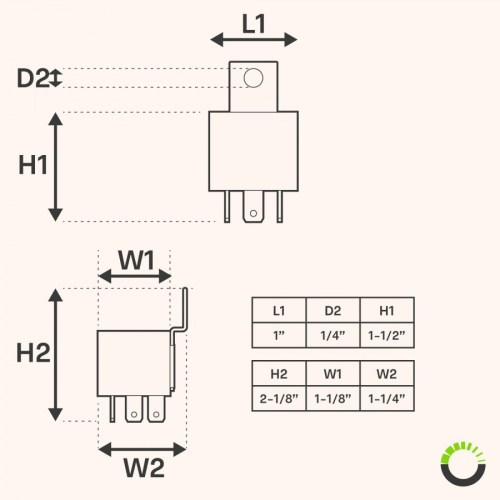 small resolution of ols 12v 30 40 amp 5 pin spdt bosch style electrical relay pack of 12v relay wiring diagram dual horn 5 pin relay wiring diagram