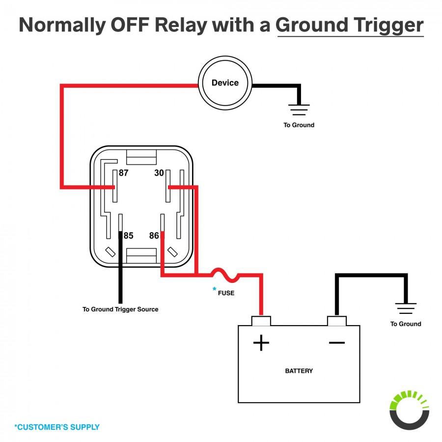 medium resolution of 12v 40a relay 4 pin automotive relay box 12v relay box4 blade relay wiring diagram